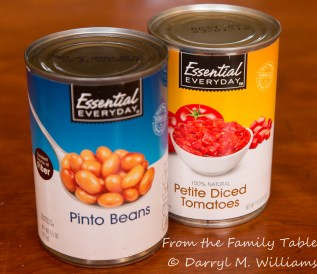 Double heresy - beans and tomatoes