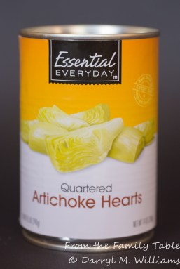 Fresh artichokes may taste better, but they take a lot more effort