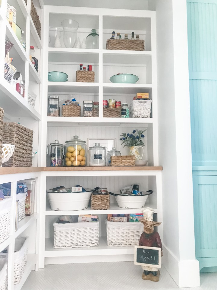 pantry in a four gables house plan