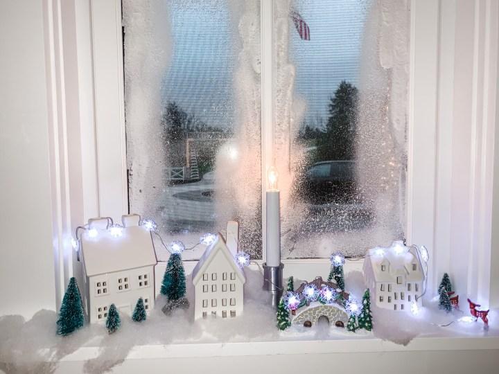 Create a Festive Christmas Window:  A Nod to the Swedes