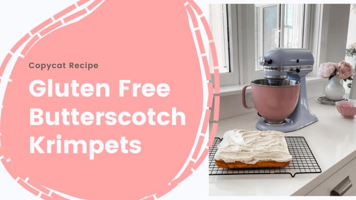 Gluten Free butterscotch krimpets