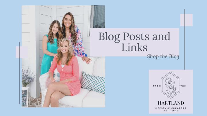 Blog Posts and Links graphics