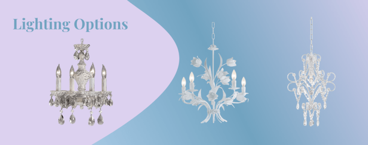 pool house chandeliers