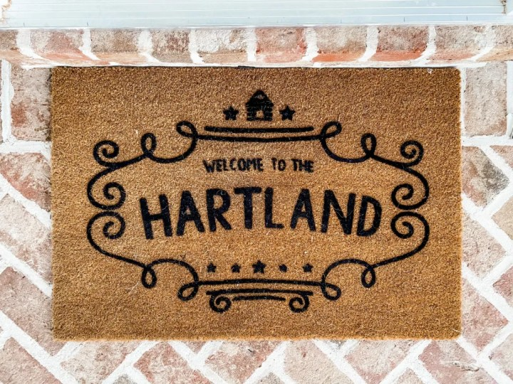 Custom HartLand Door Mat