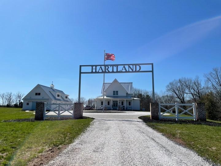 HeatLand Driveway sign