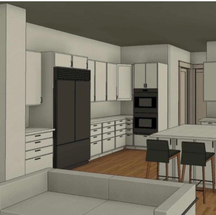 @hidden_glory_acres Kitchen rendering