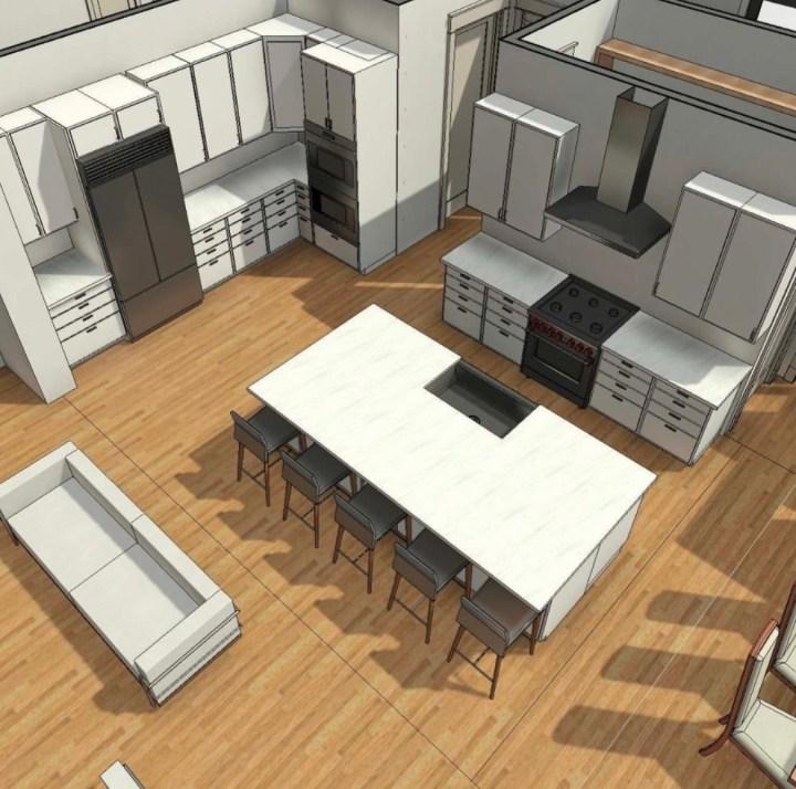@hidden_glory_acres Kitchen rendering 2