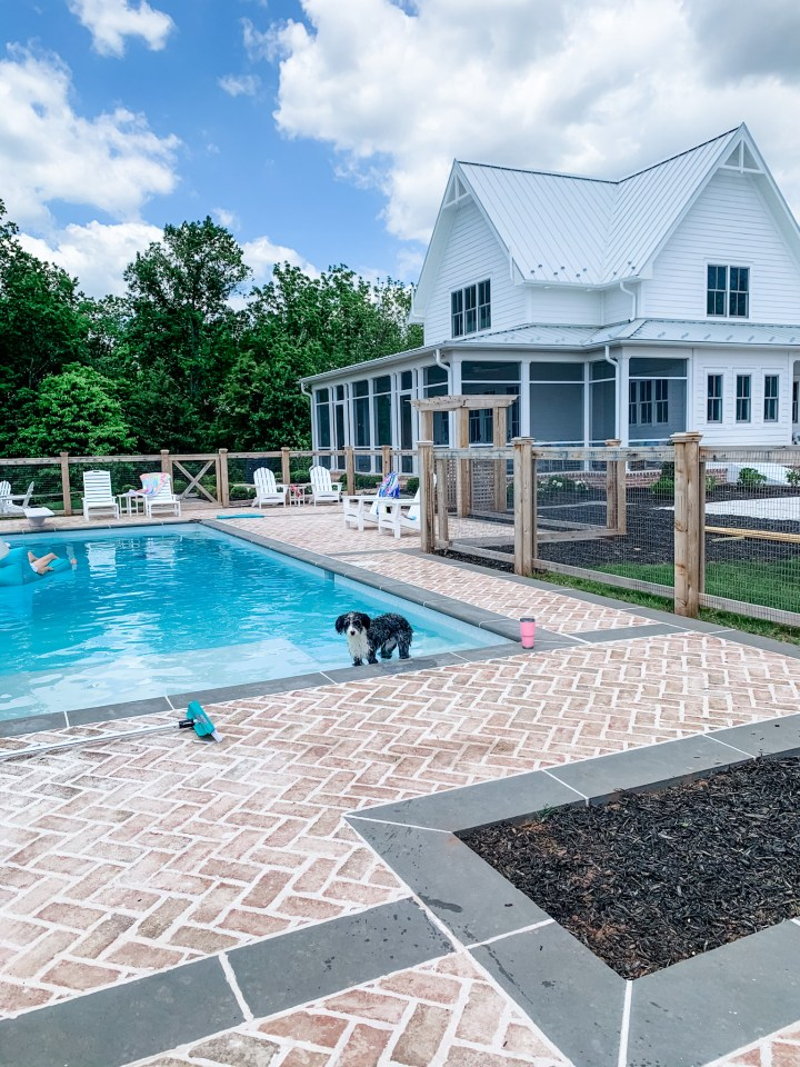 Our In-Ground Pool Design at HartLand
