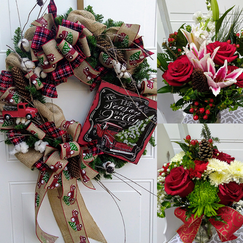 From the Heart Florist Christmas Arrangements and Gifts