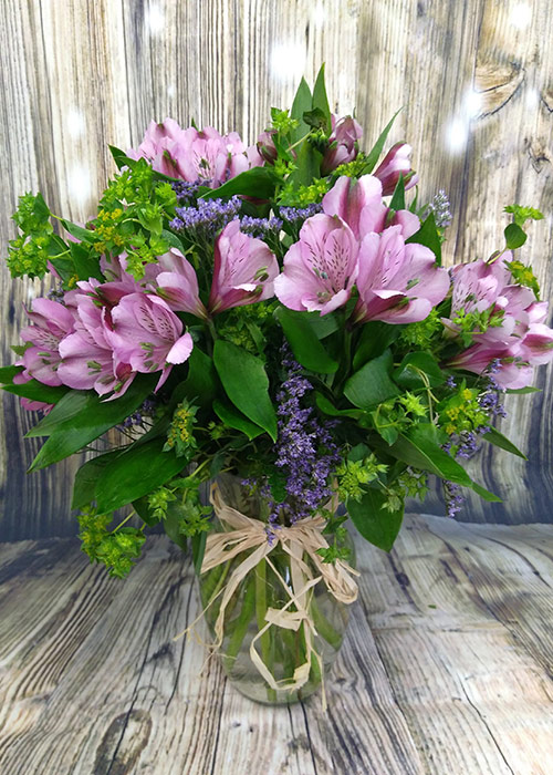 Specially designed Valentine's Day bouquet. From the Heart Florist