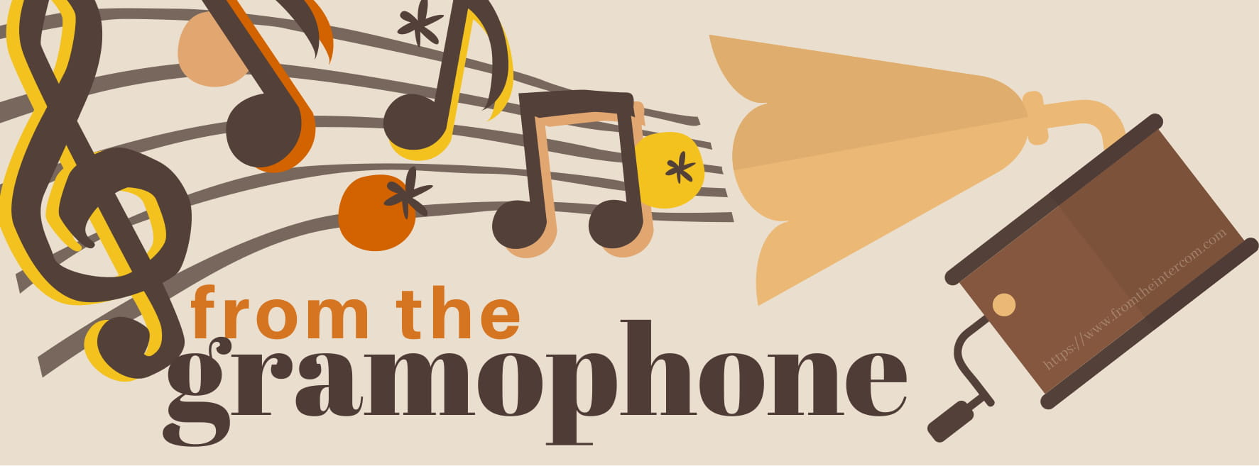 Announcing a New Column: From the Gramophone