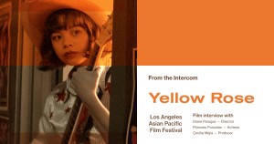 LAAPFF Interview: Director Diane Paragas, Actress Princess Punzalan, and Producer Cecilia Mejia on 'Yellow Rose'