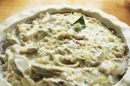 6Chicken and Leek Pie
