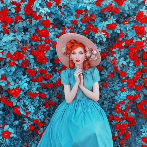 valentines-day-background-spring-rose-flower-garden-fabulous-lady-picture-id1131043102