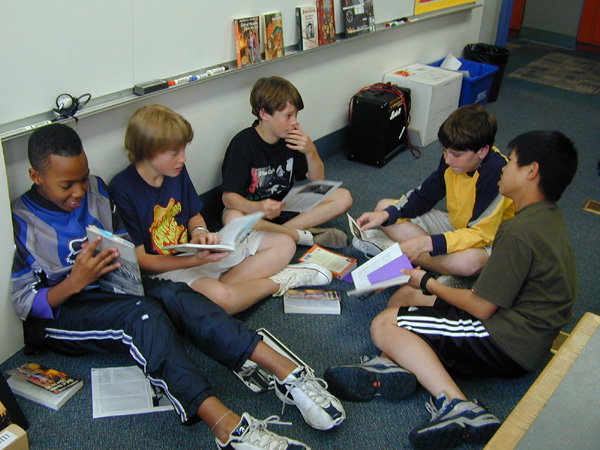 Literature Circles: Savoring Books in a Community of Readers