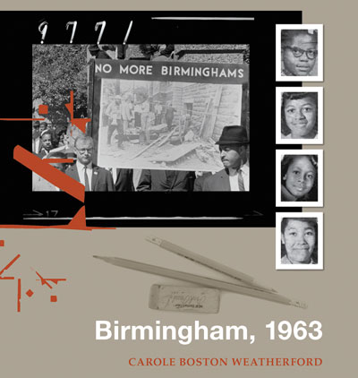 Win a Skype visit with Carole Weatherford, acclaimed author of Birmingham, 1963
