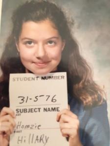 Hillary, age 13
