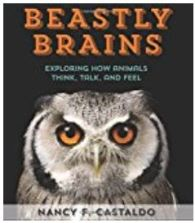 Cover of Beastly Brains: Exploring How Animals Think, Talk, and Feel