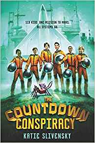 Starman - A Space-Themed Middle Grade Book List |The Countdown Consipiracy | https://fromthemixedupfiles.com