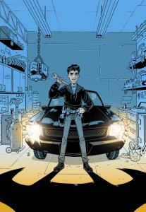 Cover Image for Batman: Overdrive. Courtesy of DC Entertainment.