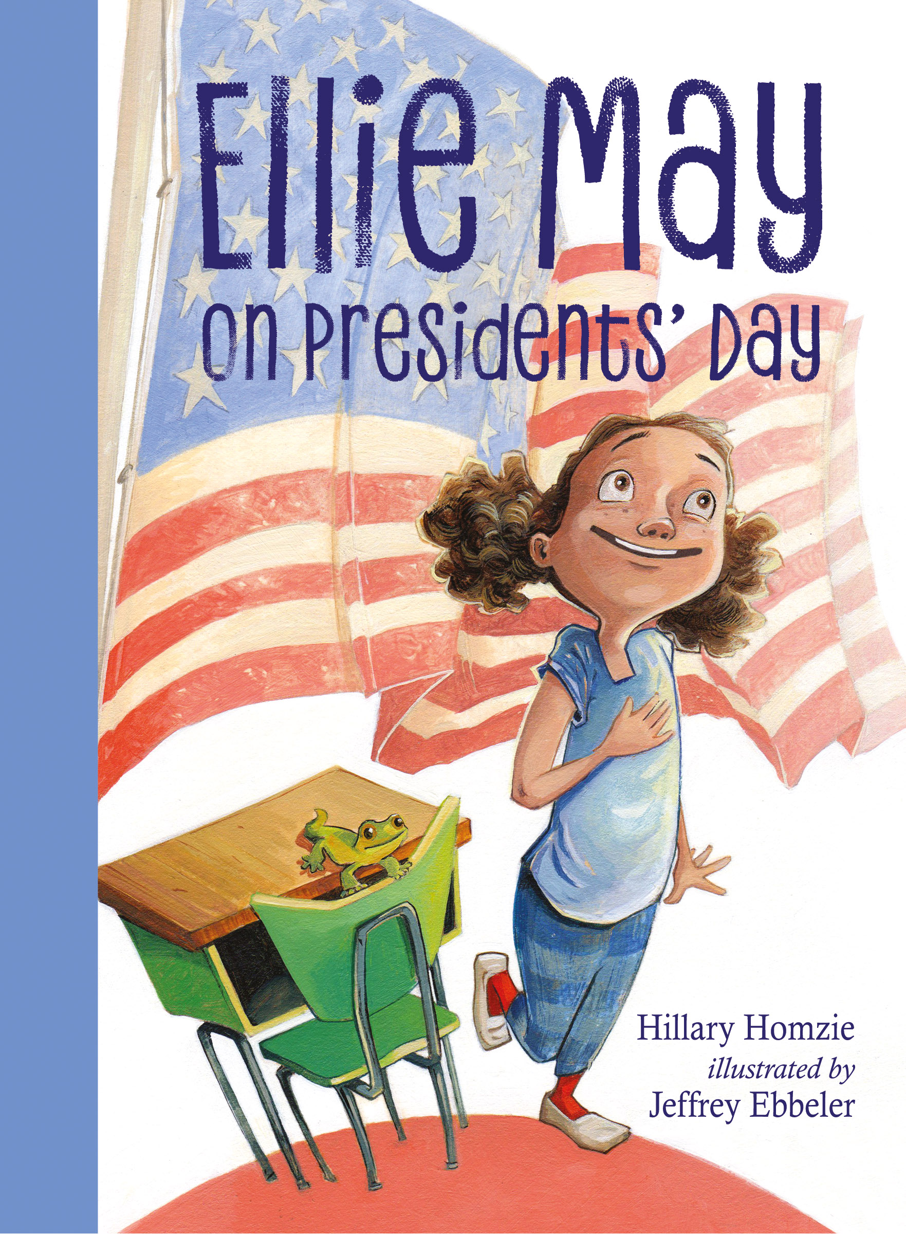 Interview with Illustrator Jeffrey Ebbeler & Giveaway: Ellie May on Presidents' Day and Ellie May on April Fools' Day