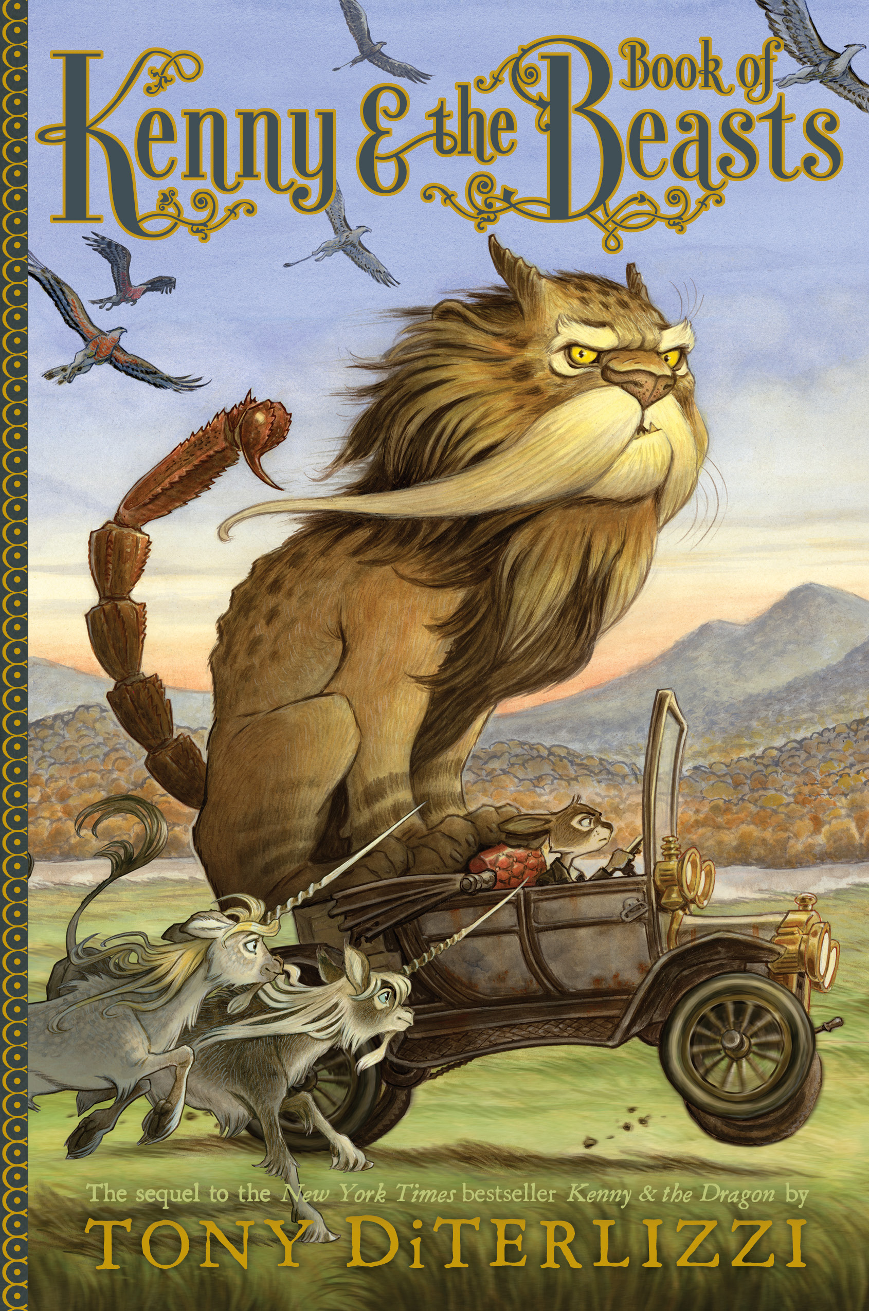 Interview with Tony DiTerlizzi, author of Kenny and the Book of Beasts