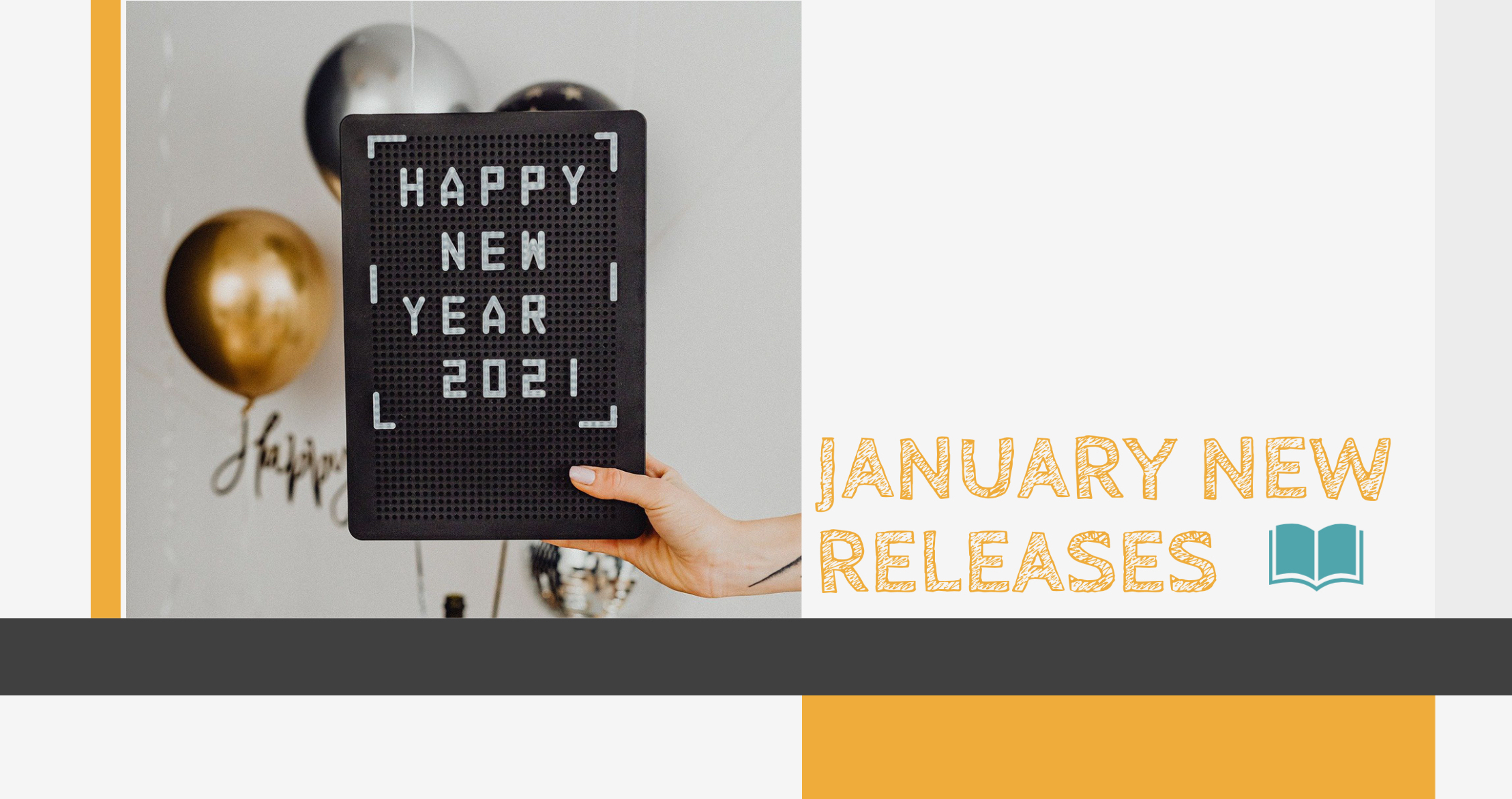 January New Releases!