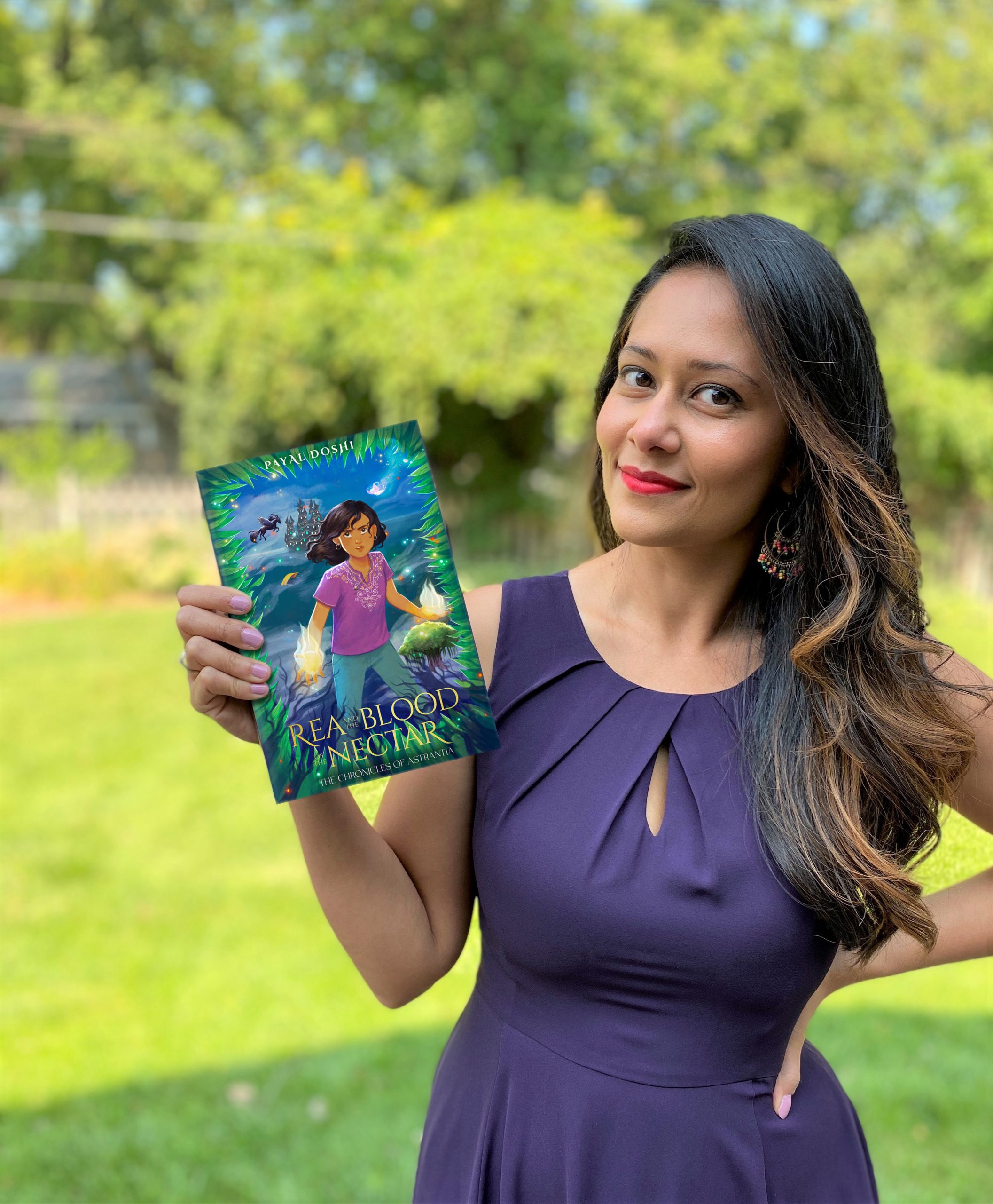 Middle-Grade Fantasy story featuring strong South Asian Characters: Interview and Giveaway with Payal Doshi