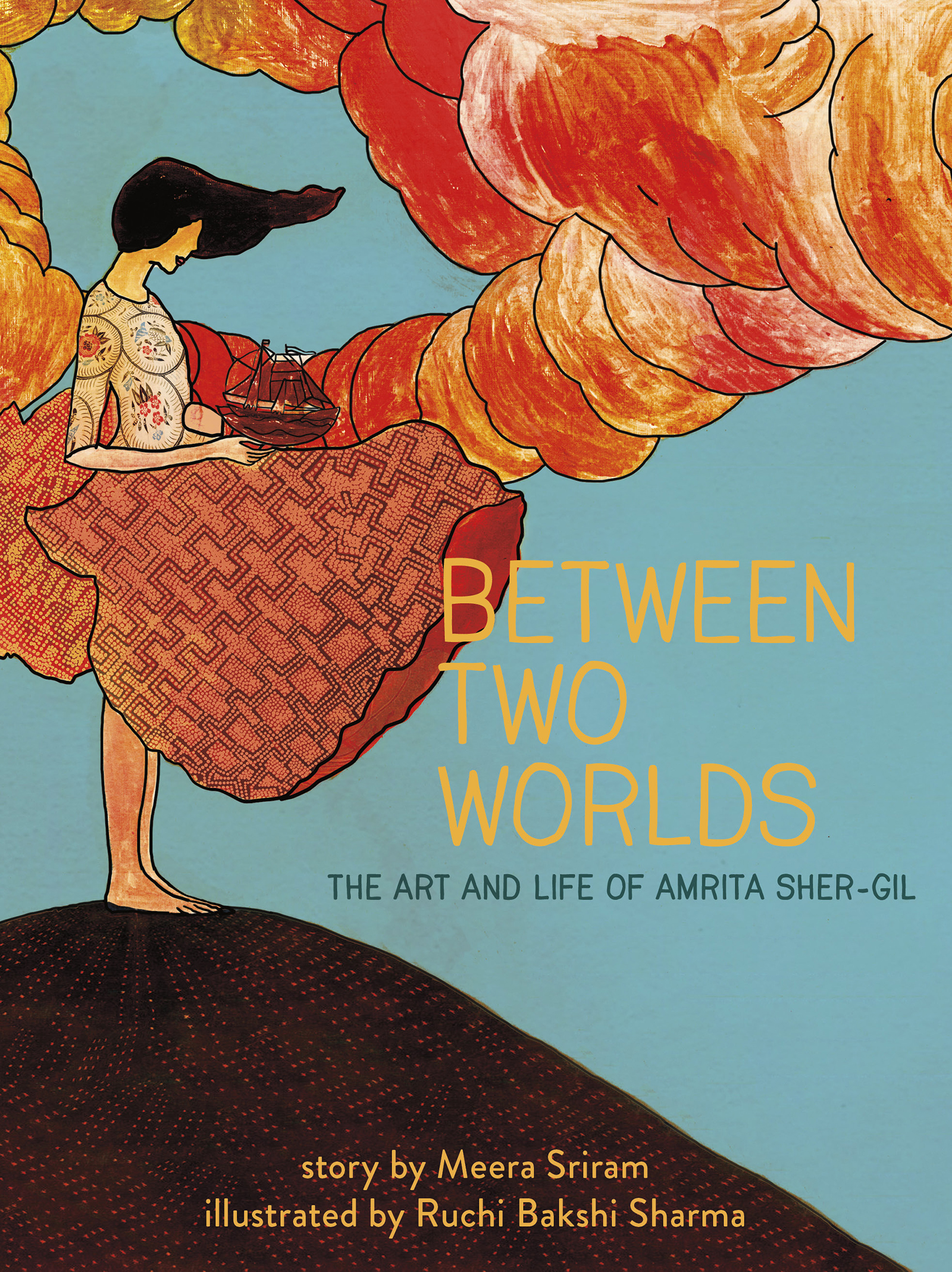 WNDMG: South Asian Picture Book Biography: Meera Sriram talks about BETWEEN TWO WORLDS: THE ART & LIFE OF AMRITA SHER-GIL