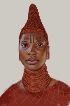 Illustration from AFRICAN ICONS
