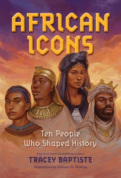 Cover for African Icons book by Tracey Baptiste