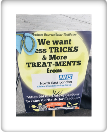 newham deserves better healthcare from nelccg day 70