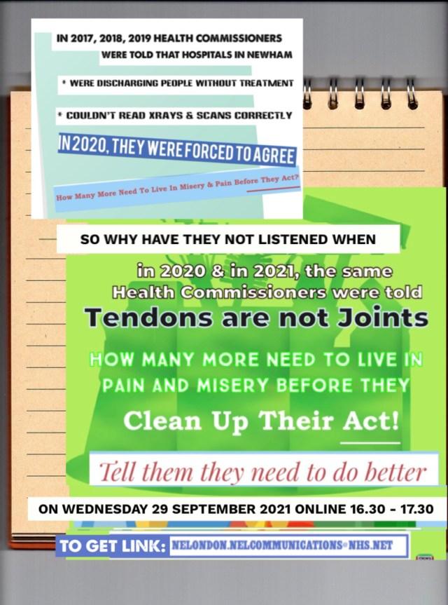 tendons are not joints neham deserves better healthcare