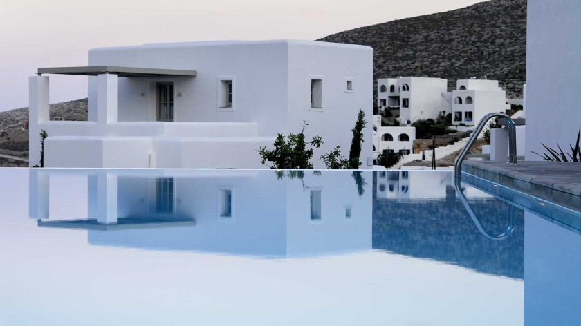 Anemi hotel, Folegandros, design hotel, From the Poolside blog - stylish places for family holiday. One of 16 beach hotels to discover on this post.