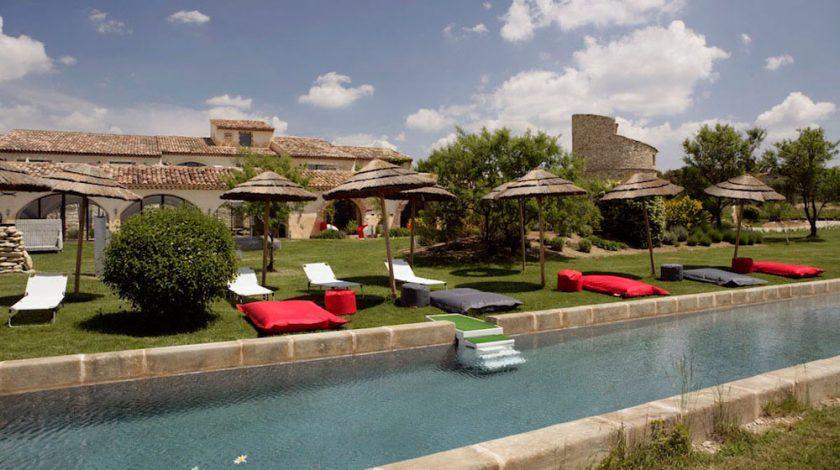 Ferme de Capelongue, Bonnieux, Provence, boutique hotel, From the Poolside blog