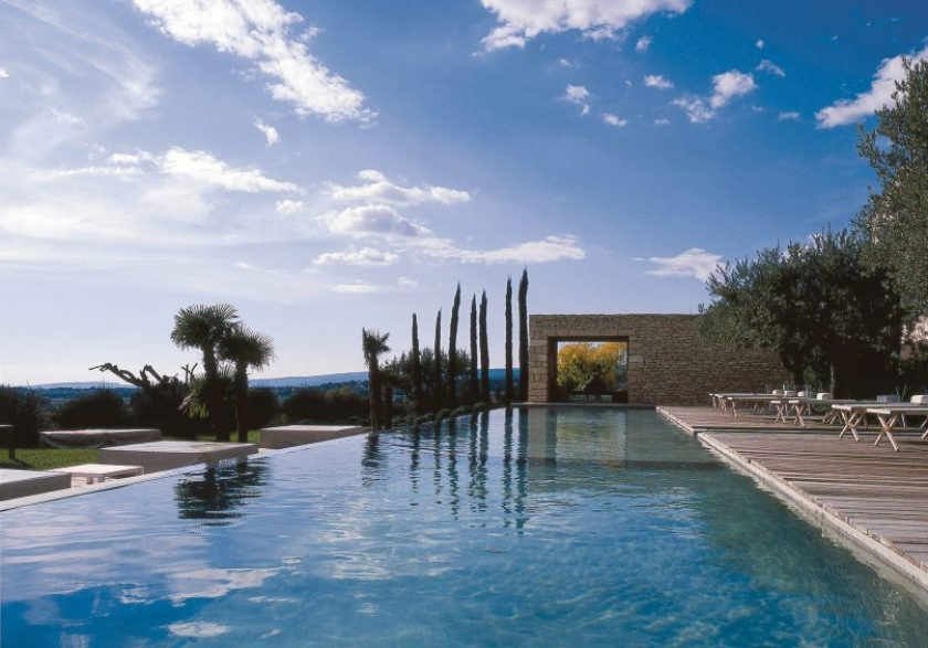 Domaine des andeols, Provence, luxury hotel, design hotel, From the Poolside blog