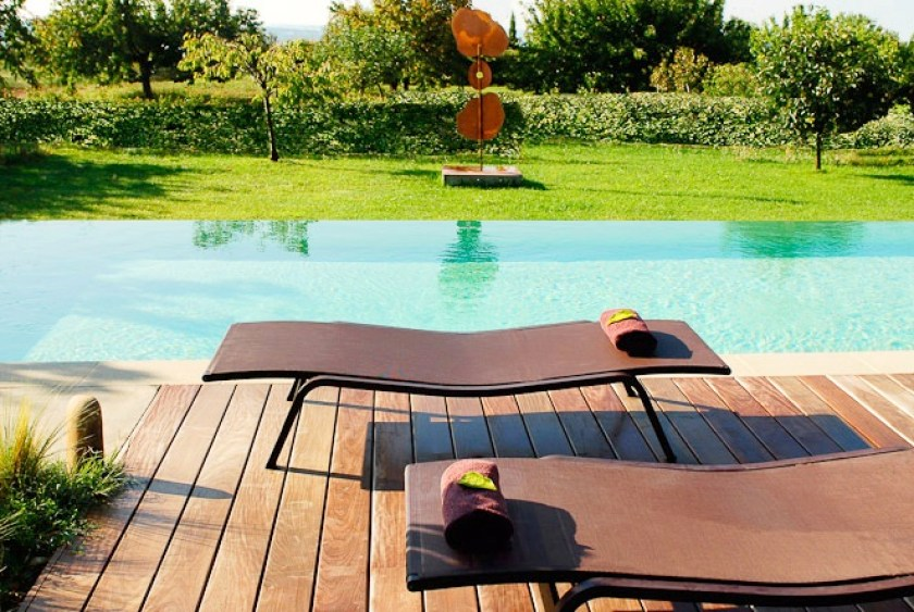 Pavillon de Gallon, Luberon, Provence, France, From the Poolside blog