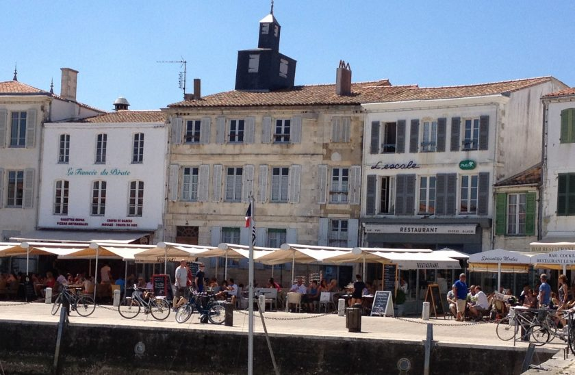 La Flotte harbour, Ile de Re, VIA From the Poolside blog on boutique hotels and stylish rentals for family holidays