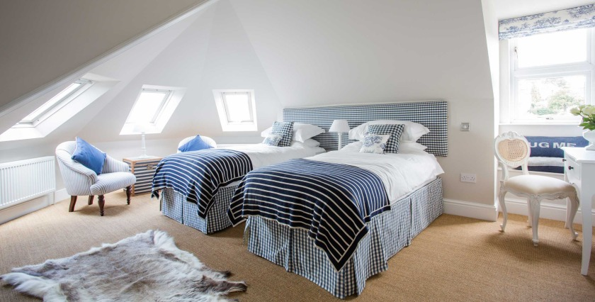 Grays, boutique B&B, Bath,  VIA From the Poolside blog on boutique hotels and B&B for family holidays