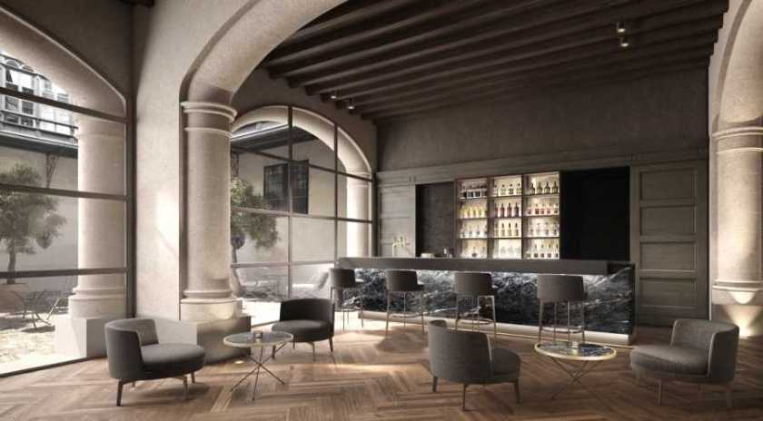 Hotel Sant Francesco Singular, Palma de Mallorca, five star luxury hotel. Opening in 2015. Rooms from 252 euros