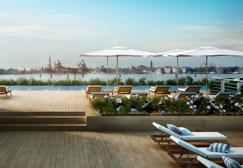 JW Marriott Venice, new five star luxury hotel in Venice with pool and spa