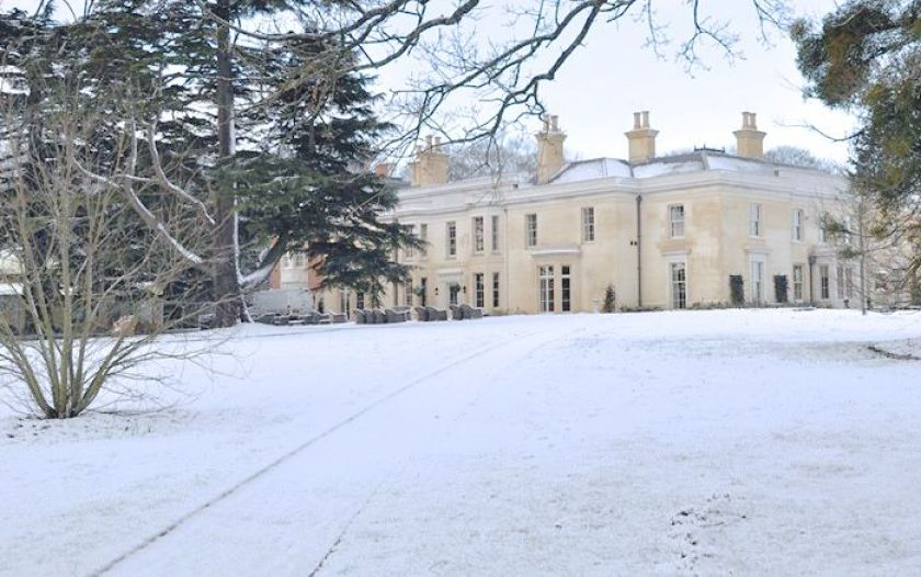 Limewood, a luxury hotel in the New Forest. For Christmas you can enjoy the wonderful food by Angela Hartnett and relax in the spa.