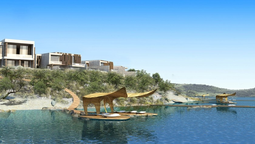 Nikki Beach Bodrum, a new luxury boutique hotel opening in Turkey this summer. 57 bedrooms but also villas with sea view, private pools. The hotel has access to two sandy beaches and will also offer an outdoor pool and a massive spa.