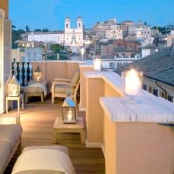 Portrait Roma, Rome. Luxury hotel. Penthouse