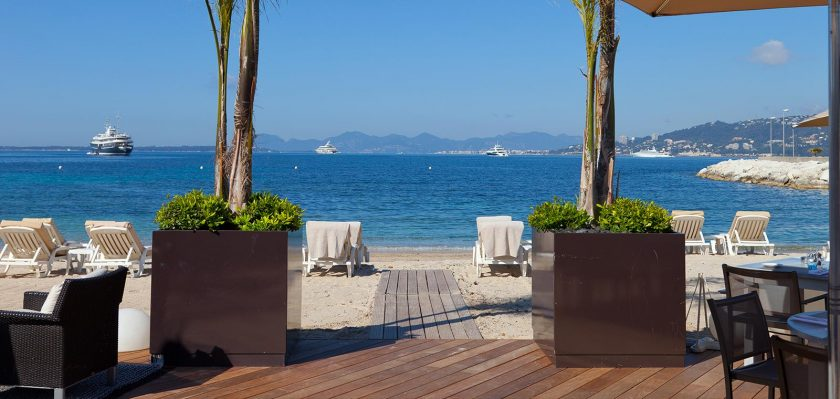 Cap d'Antibes Beach hotel, 22 rooms, from 330 Euros off season. one of 16 beach hotels in Europe to discover on this post