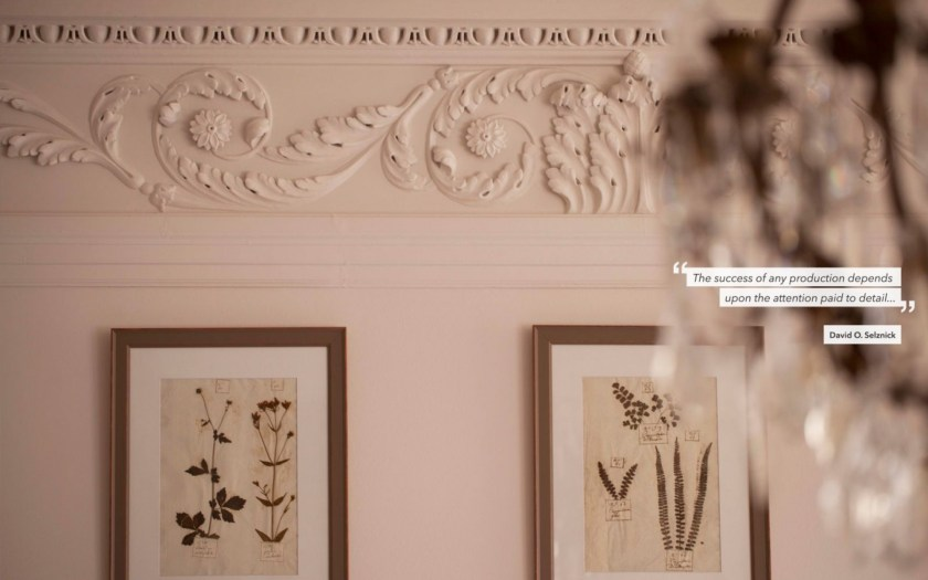 hotel de la Villeon, ardeche, quote about details