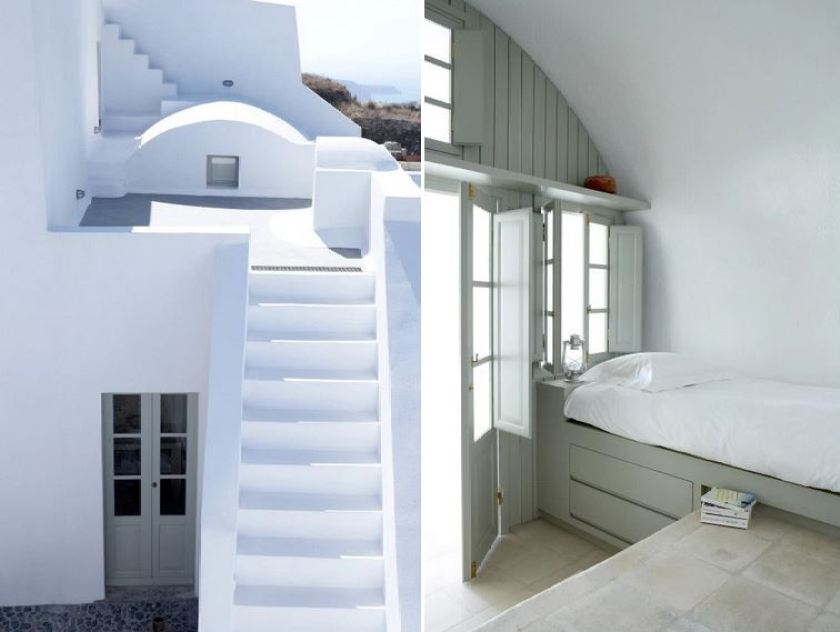 Villa Fabrica, a beautiful villa rental in Santorini, Greece.