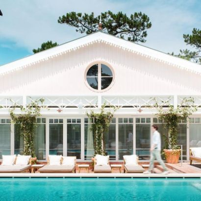 A pool that can get covered when it's cold at the Haaitza hotel. Right on the dune du pyla the Haaitza hotel is springing to life again. But is it as nice as the old institution? Read what the locals think about it.