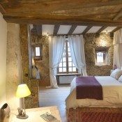 Le Buron de Niercombe, a totally isolated romantic escape in Auvergne should be your perfect Valentine's day hideaway.