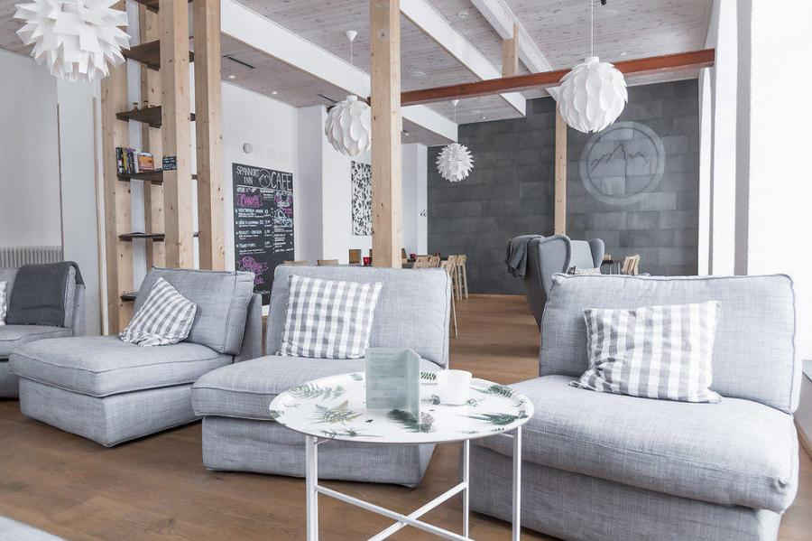 Spannort Inn, a stylish ski b&b in Switzerland, one of the happiest countries in the world.